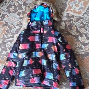 Like New Roxy Dry Flight Snowboarding Jacket